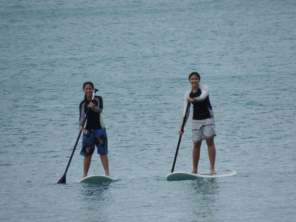 Stand up paddle boarding in Phuket